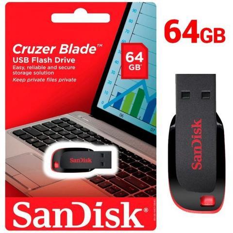 Imagem de Pendrive 64GB Sandisk