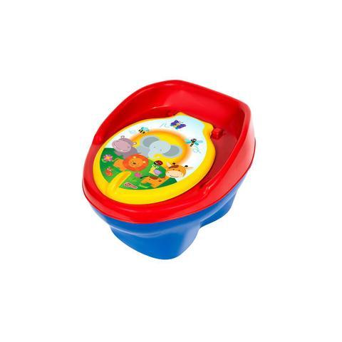 Imagem de Penico musical infantil(2em) peniquinho bebê pinico bichinho