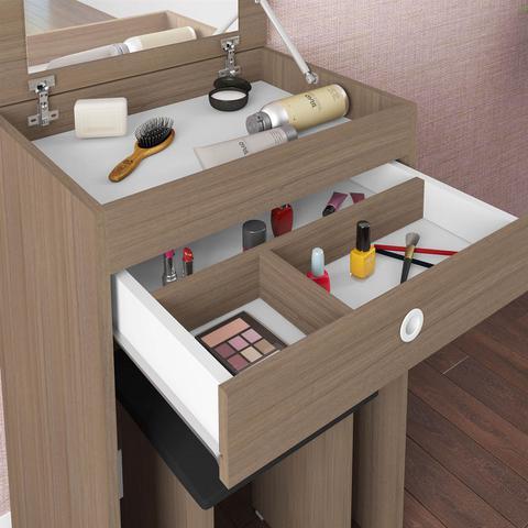 Imagem de Penteadeira Com Espelho Embutido Mimo Montana Art In Móveis