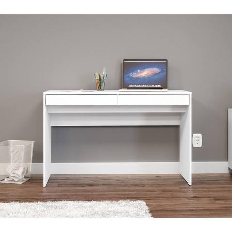 Imagem de Penteadeira/ escrivaninha com 2 gavetas lindóia - branco