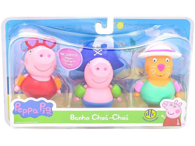 Imagem de Peppa Pig Banho Chuá Chuá 3 Peças