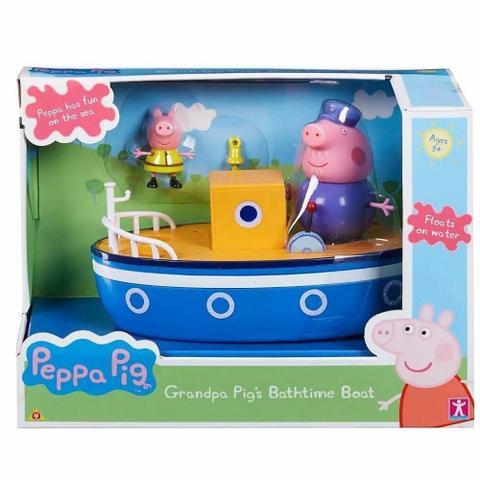 Imagem de Peppa Pig Barco Vovô Pig Flutua De Verdade Brinquedo Sunny