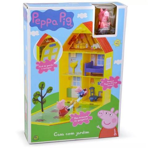 Imagem de Peppa Pig Casa com Jardim - DTC