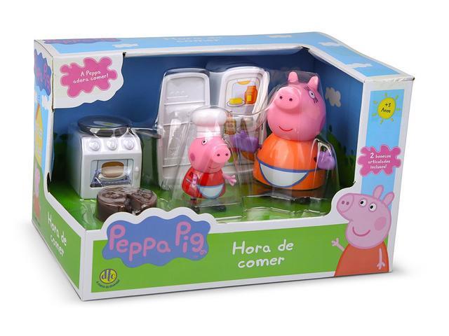 Imagem de Peppa PIG Hora de Comer Cozinha Bolo - DTC