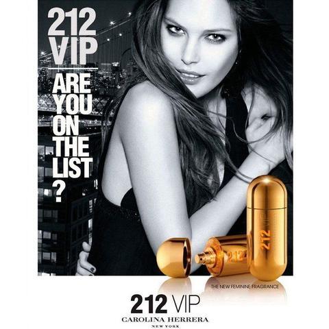 Imagem de Perfume Carolina Herrera 212 Vip Feminino Eau de Parfum 50ml