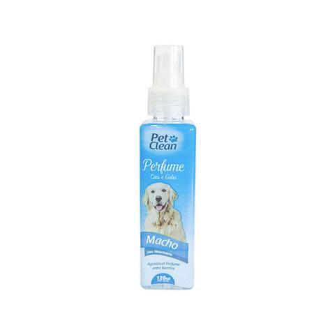 Imagem de Perfume Para Cães E Gatos Macho Pet Clean 120ml Pós Banho