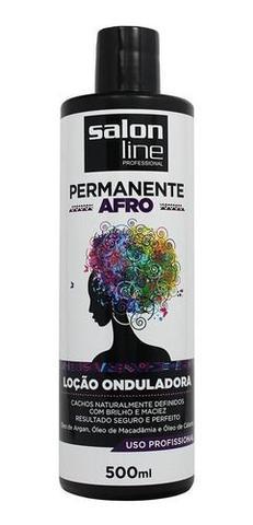 Imagem de Permanente Afro Loção Onduladora 500 Ml - Salon Line
