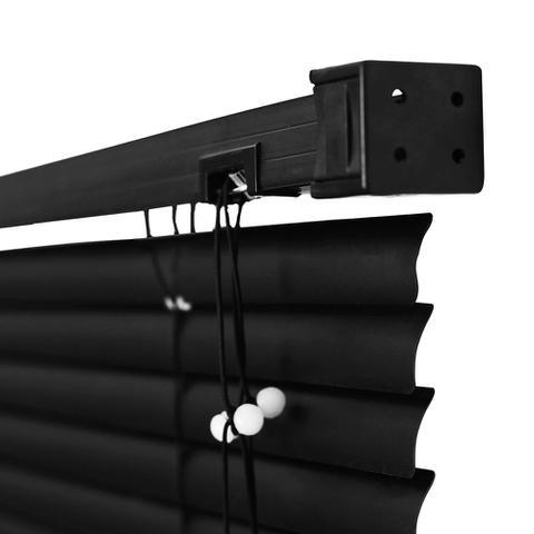 Imagem de Persiana Horizontal PVC Premier - 1,40x1,60m - Preta
