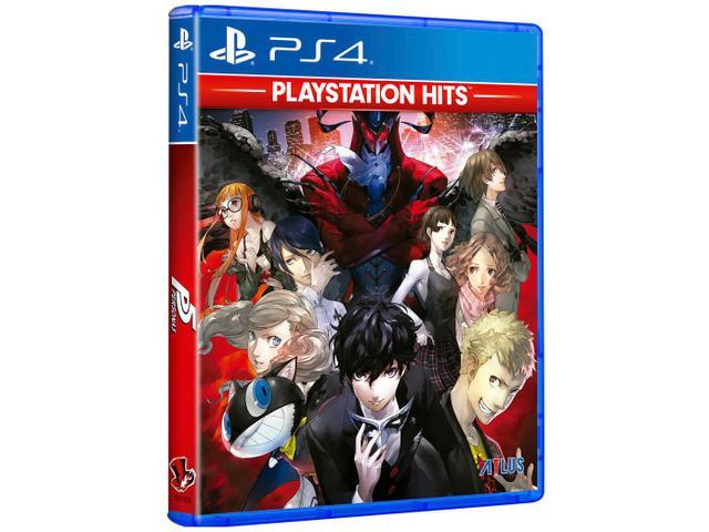 Jogo Persona 5 Hits - Playstation 4 - Atlus