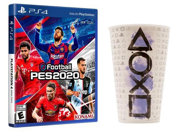 Imagem de PES 2020 PS4 + Copo Oficial