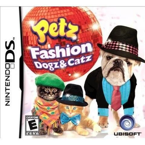 Jogo Petz Fashion: Dogz And Catz - Nds - Ubisoft