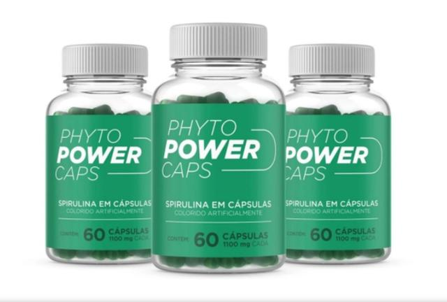 Imagem de Phyto Power Caps - Kit c/ 3 unidades