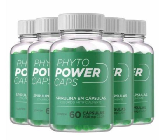 Imagem de Phyto Power Caps Original - 60 Cápsulas - 5 Frascos