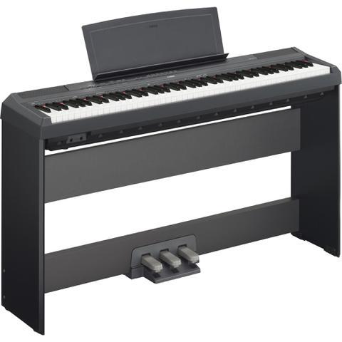 Imagem de Piano Digital P115 Com Fonte Preto Yamaha