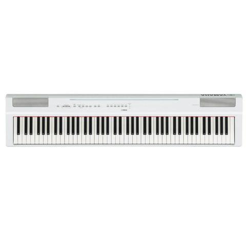 Imagem de Piano Digital Yamaha P-125WH Branco com 88 Teclas de Mecanismo GHS 24 sons e 20 ritmos