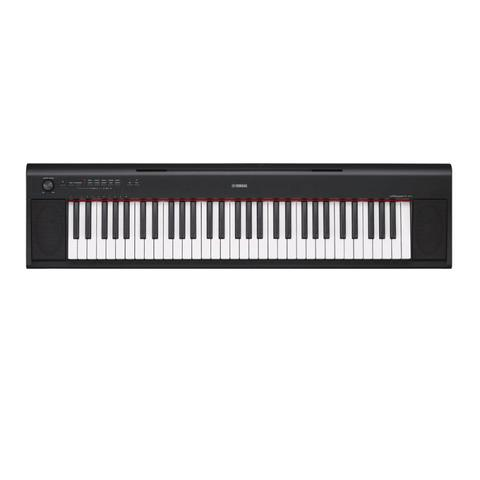 Imagem de Piano Digital Yamaha Piaggero NP-12B Preto com 64 de Polifonia e 10 Timbres