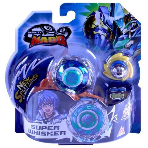 Imagem de Piao de Combate - Infinity Nado Standard Series - Super Whisker CANDIDE