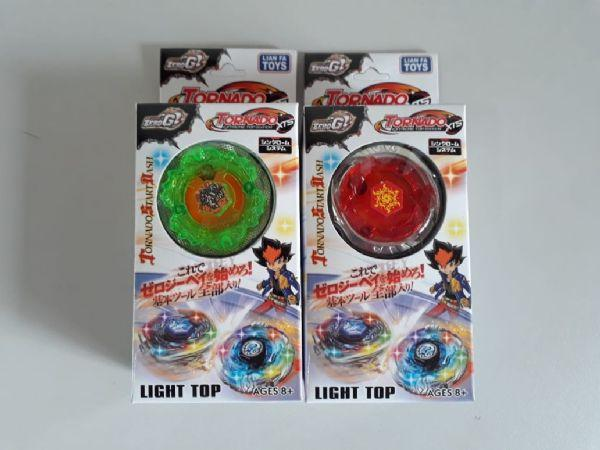 Imagem de Pião Luminoso modelo tornado Com Lançador Cores Variadas