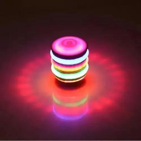 Imagem de Pião Musical Luminoso Com Lançador Automatico Tendencia