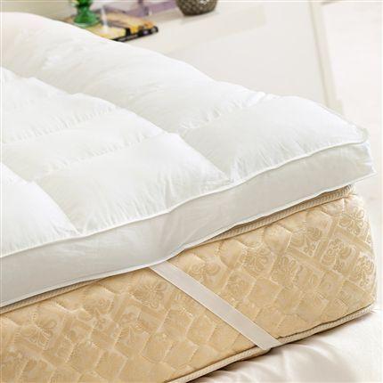 Imagem de Pillow Top 80 Penas 20 Plumas de Ganso SOLTEIRO 90x190x07cm - Plooma