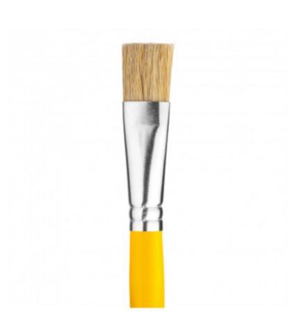 Imagem de Pincel Achatado 1,3 cm Amarelo