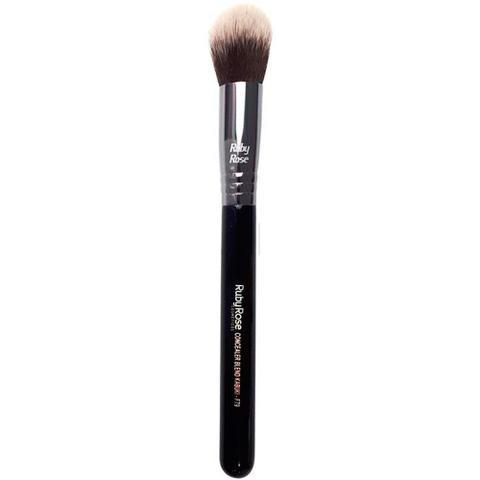 Imagem de Pincel Para Maquiagem Base e Corretivo F79 Concealer Blend Kabuki Ruby Rose