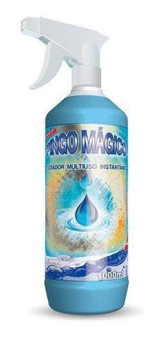 Imagem de Pingo Mágico Limpa Box Vidros Grelha Fogão - 1L Caixa C/ 6un