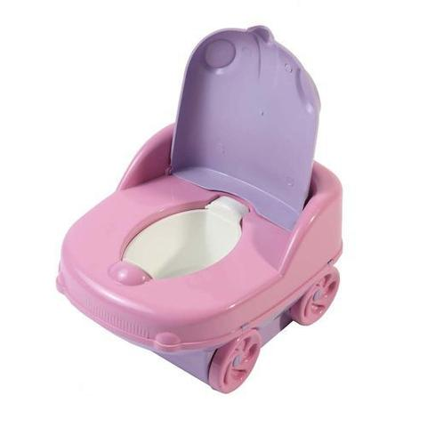 Imagem de Pinico Infantil Troninho Criança Styll Baby Musical Rosa