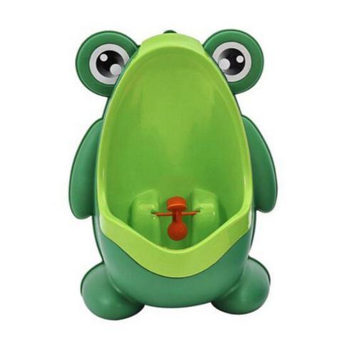Imagem de Pinico Mictorio Infantil Divertido Menino Sapo Sapinho Verde