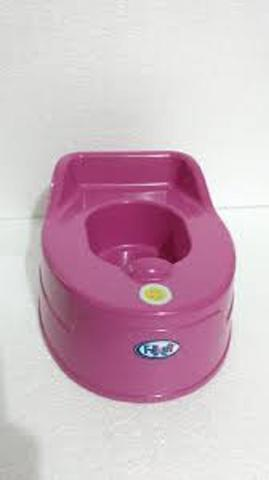 Imagem de Pinico musical infantil rosa