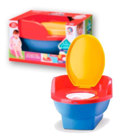 Imagem de Pinico Troninho de Transição 2x1 Infantil Pipinico Menino Cardoso Toys