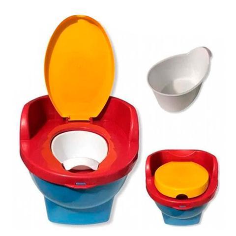 Imagem de Pinico Troninho de Transição Pipinico Azul Cardoso Toys 2x1 Infantil