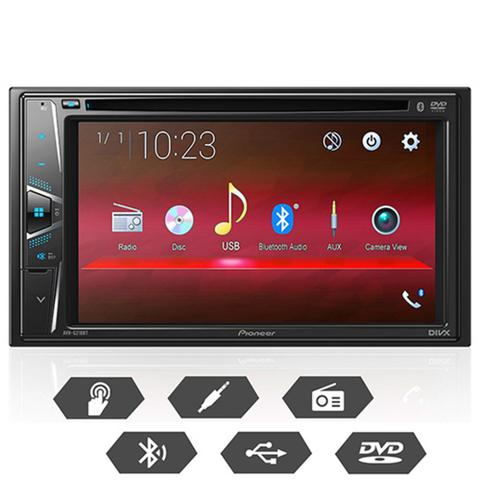Imagem de Pioneer Dvd Player Automotivo Avh-g218bt Bluetooth USB BT FM AUX