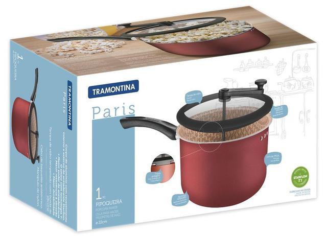 Imagem de Pipoqueira Alumínio 22cm Paris Tramontina 20536722