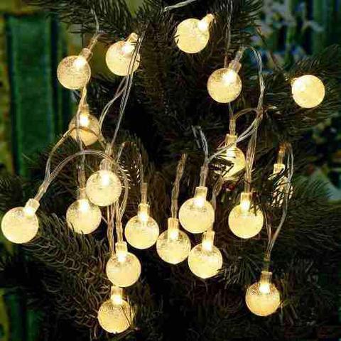 Imagem de Pisca Pisca 20 Luzes Brancas 3,2 M Luz Cristal 110v 127v
