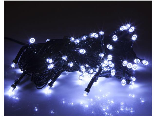 Imagem de Pisca Pisca Bolinha 100 LEDs 2,5m Branco Frio