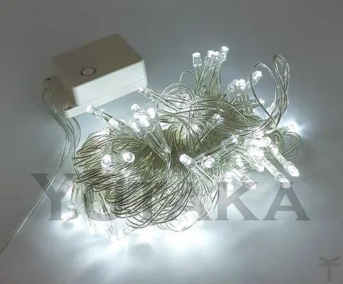 Imagem de Pisca pisca natal fio de led 8 funções 100 leds 9m branco frio 110v