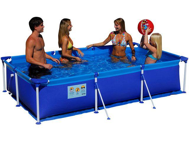 piscina de plastico retangular 5000 litros