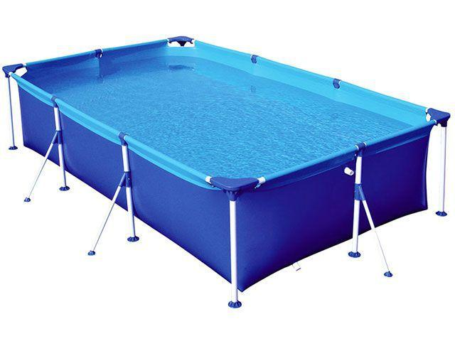 piscina de plastico grande quadrada