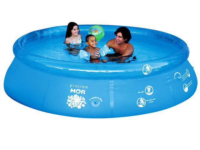 piscina de plastico 4600 litros mor