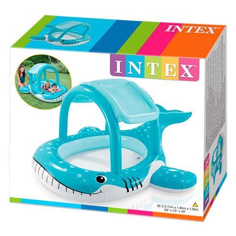 Imagem de Piscina com Cobertura Baleia Amiga 120 Litros - Intex