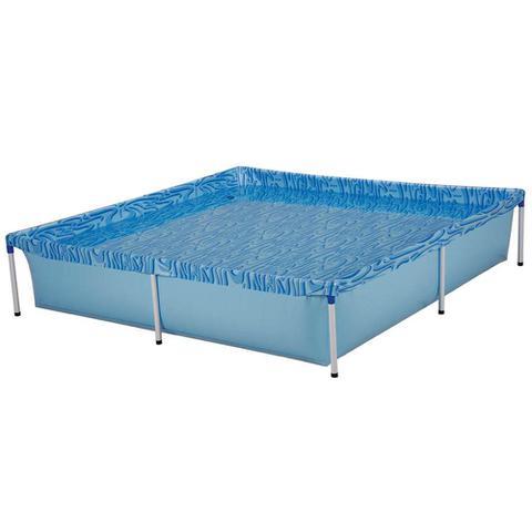 Imagem de Piscina estruturada quadrada 1500 litros mor