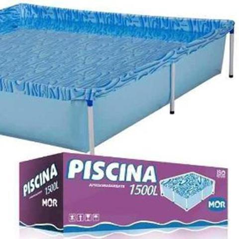 Imagem de Piscina Infantil 1500 Litros Quadrada