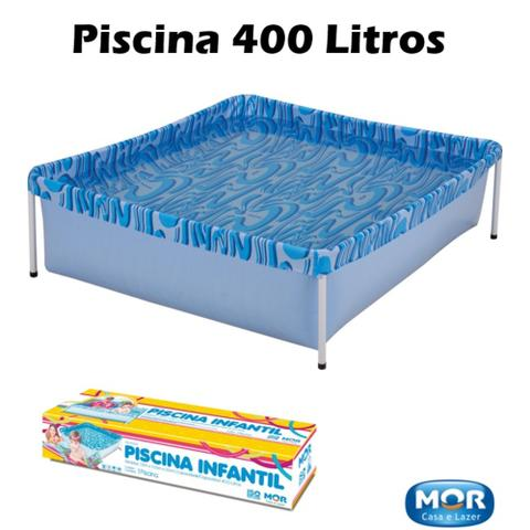 Imagem de Piscina Infantil 400 Litros - Mor