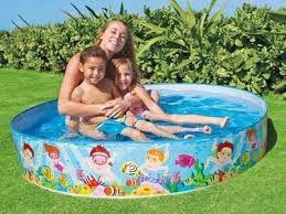 Imagem de Piscina Infantil 500 Litros Intex - Envio Imediato - Top!