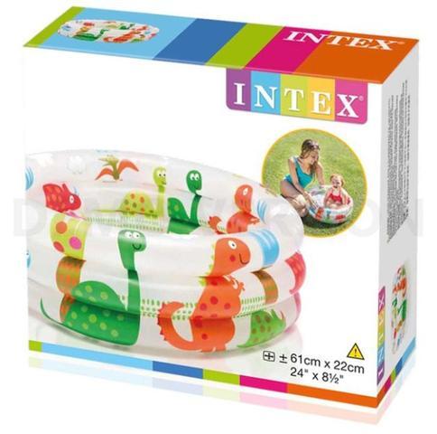 Imagem de Piscina Infantil Inflavel Dinossauro 28 Litros Intex 57106