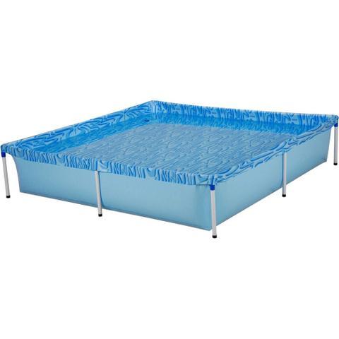 Imagem de Piscina Infantil Retangular Estrutural PVC 1500 litros - Mor
