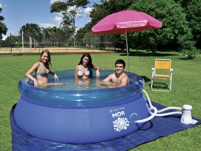 Imagem de Piscina Inflável 2400 Litros Splash Fun - Mor