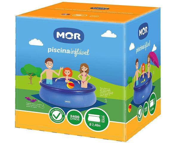Imagem de Piscina Inflável Mor 2400 Litros Redonda  - Splash Fun