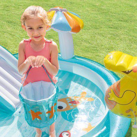 Imagem de Piscina Inflável Playground 180 Litros Jacaré - Intex